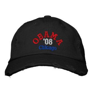 Obama '08 Chicago Hat Embroidered Cap