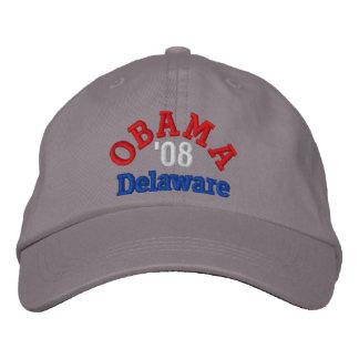 Obama '08 Delaware Hat Embroidered Baseball Cap