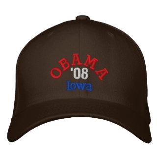 Obama '08 Iowa Hat Embroidered Hats