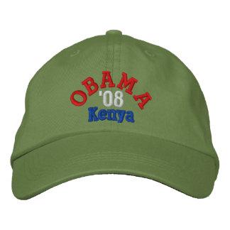 Obama '08 Kenya Hat Embroidered Baseball Caps