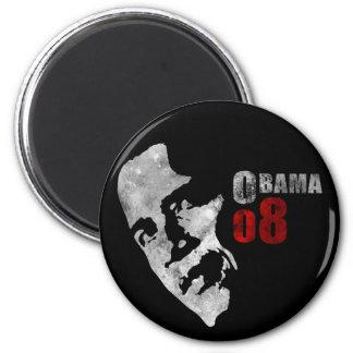 Obama 08 6 cm round magnet
