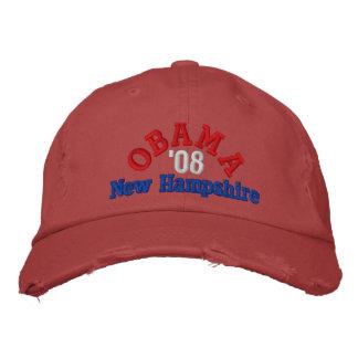 Obama '08 New Hampshire Hat Embroidered Baseball Caps