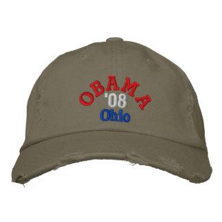 Obama '08 Ohio Hat Embroidered Hat