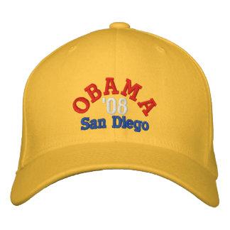 Obama '08 San Diego Hat Embroidered Baseball Caps