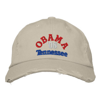 Obama '08 Tennessee Hat Baseball Cap
