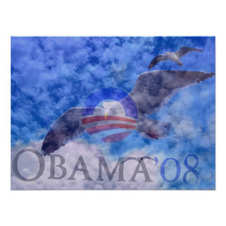 OBAMA '08,Tking it to another level_ Poster Print