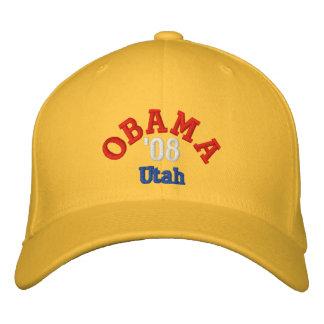 Obama '08 Utah Hat Embroidered Baseball Cap