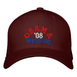 Obama '08 Wyoming Hat Baseball Cap