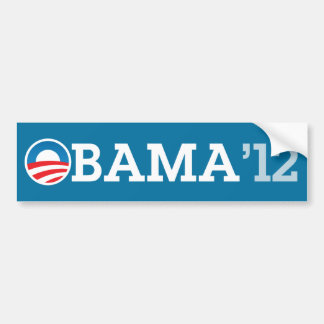 OBAMA 12 | BUMPER STICKER