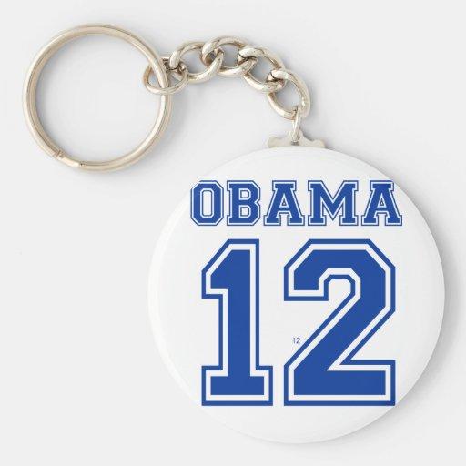 Obama 12 key chains