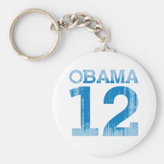 OBAMA 12 Vintage.png Key Chains