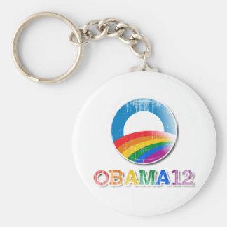 Obama 12 - Vintage.png Key Chains