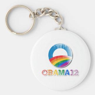 Obama 12 - Vintage.png Keychains