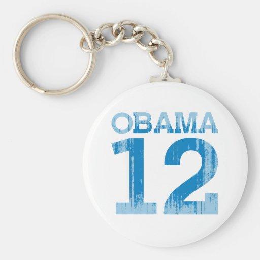 OBAMA 12 Vintage.png Keychains