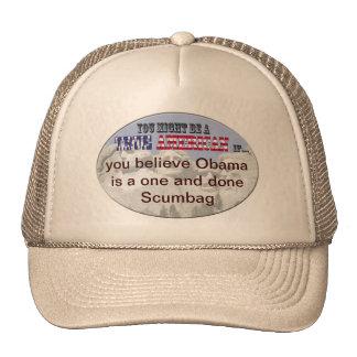 obama 1 and done scumbag cap