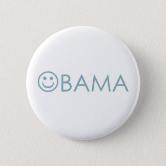 obama 2008 6 cm round badge