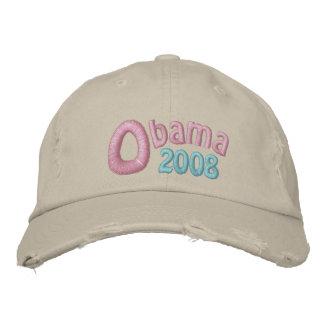 Obama 2008, Barack Obama, Pastel Memories Embroidered Hats