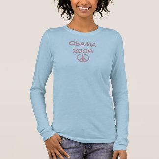 Obama 2008 Blue Pink T-shirt