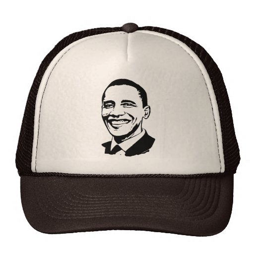 Obama 2008: Yes we can Trucker Hats