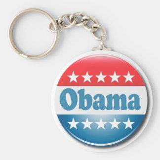 Obama 2012 basic round button key ring