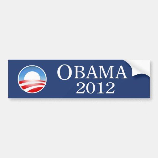 Obama 2012 Bumper Sticker Car Bumper Sticker