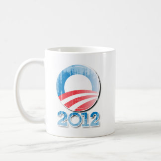 Obama 2012 Button Vintage.png Coffee Mug