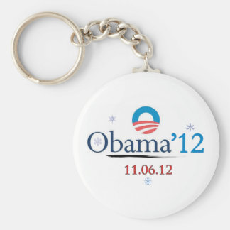Obama 2012 Christmas Keychain