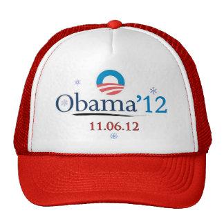 Obama 2012 Christmas Trucker Hat