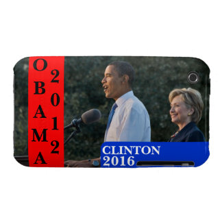 Obama 2012 & Clinton 2016 iPhone 3 Cover