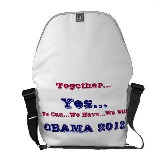 OBAMA 2012 COMMUTER BAG