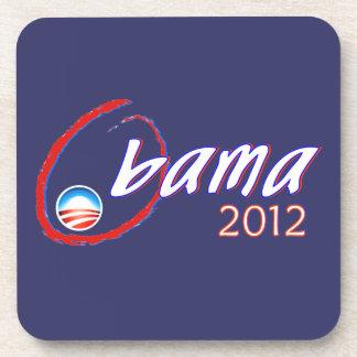 Obama 2012 beverage coasters
