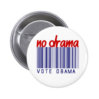 Obama 2012 Election Bumper Sticker 6 Cm Round Badge