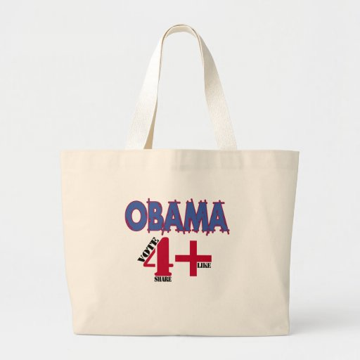 Obama 2012 Election v3 Canvas Bag
