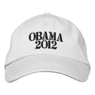Obama 2012 Embroidered Adjustable Hat Embroidered Hat