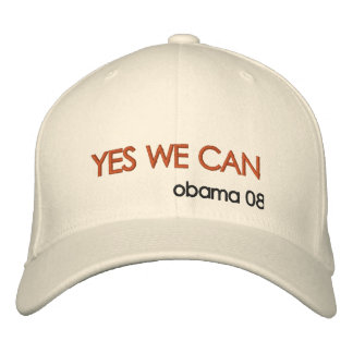 Obama 2012 embroidered baseball caps