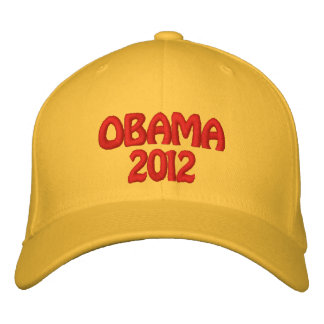 OBAMA 2012 EMBROIDERED HAT