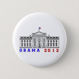 Obama 2012 for Whitehouse 6 Cm Round Badge