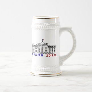 Obama 2012 for Whitehouse Coffee Mug