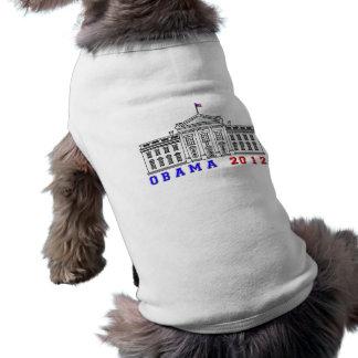 Obama 2012 for Whitehouse Sleeveless Dog Shirt