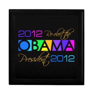 OBAMA 2012 gift jewelry box
