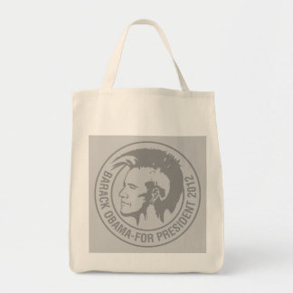 Obama 2012 grocery tote bag