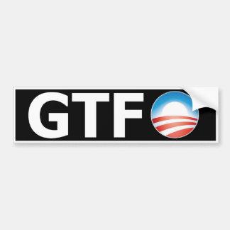 Obama 2012 GTFO Bumper Sticker