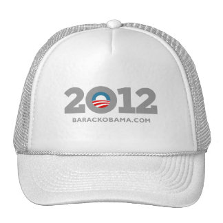 Obama 2012 trucker hats