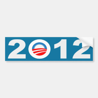 Obama 2012 Icon Bumper Sticker
