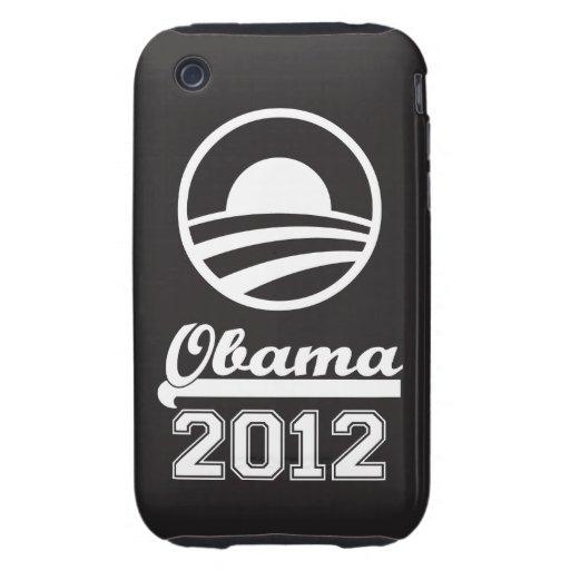 OBAMA 2012 iPhone 3 Tough Case-Mate (black)