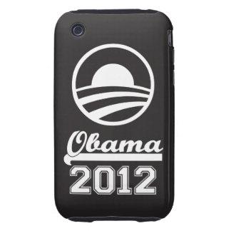 OBAMA 2012 iPhone 3 Tough Case-Mate (black) Tough iPhone 3 Cover