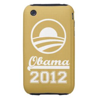OBAMA 2012 iPhone 3 Tough Case-Mate gold