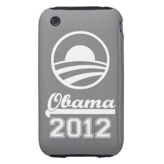 OBAMA 2012 iPhone 3 Tough Case-Mate grey