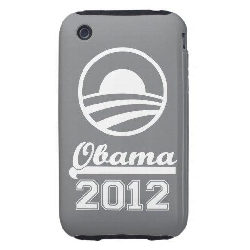 OBAMA 2012 iPhone 3 Tough Case-Mate (grey)