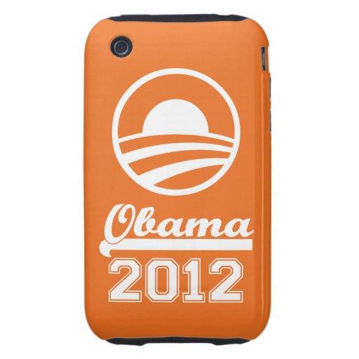 OBAMA 2012 iPhone 3 Tough Case-Mate (orange)